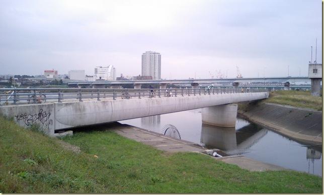 新しくできた橋